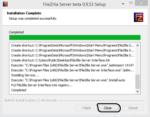 How to install an ftp server on windows server 2008